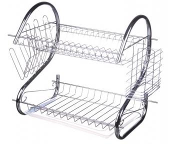 Сушарка для посуду настільна A-Plus 1154 38х41х27 см