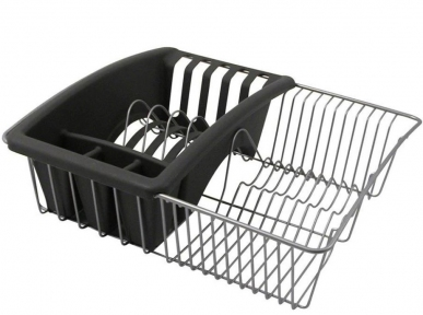 Сушилка для посуды Metaltex Polytherm 325025 35х30х11 см.