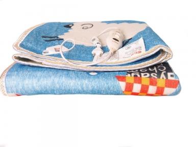 Електропростирадло дитяче Electric blanket 5733 145х115 см, блакитне