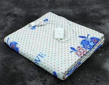 Электропростынь полуторная Lux Electric Blanket True Love 155x120 см
