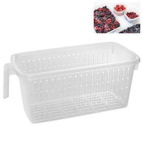 Контейнер для заморожування ягід, овочів і фруктів Stenson N01539 36x15x13 см