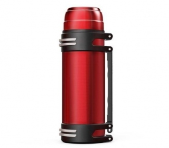 Термос з ручкою Stenson 1842-5 Shiny 2 л Red