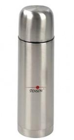 Термос вакуумний з ручкою Stenson МT-0181 1 л Steel