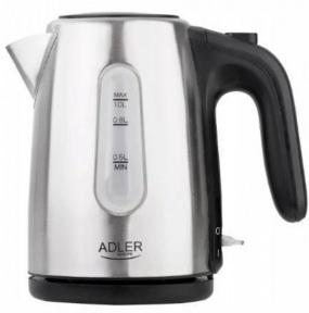 Электрочайник Adler AD 1273 1630W 1 л Silver