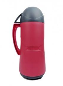 Термос со стеклянной колбой Stenson DB110SX 1 л Pink