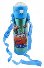 Термос детский с поилкой Disney Тачки 9030-500 500 мл Blue