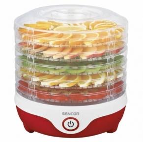 Сушарка для овочів і фруктів Sencor SFD 742RD 240W Red