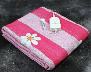 Электропростынь двухспальная Lux Electric Blanket Chamomile 155x140 см