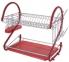 Сушарка для посуду настільна Edenberg EB-2110 56х27х42 см Red