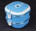 Пищевой термос с ложкой Empire ЕМ 1519 2 уровня по 700 мл Blue